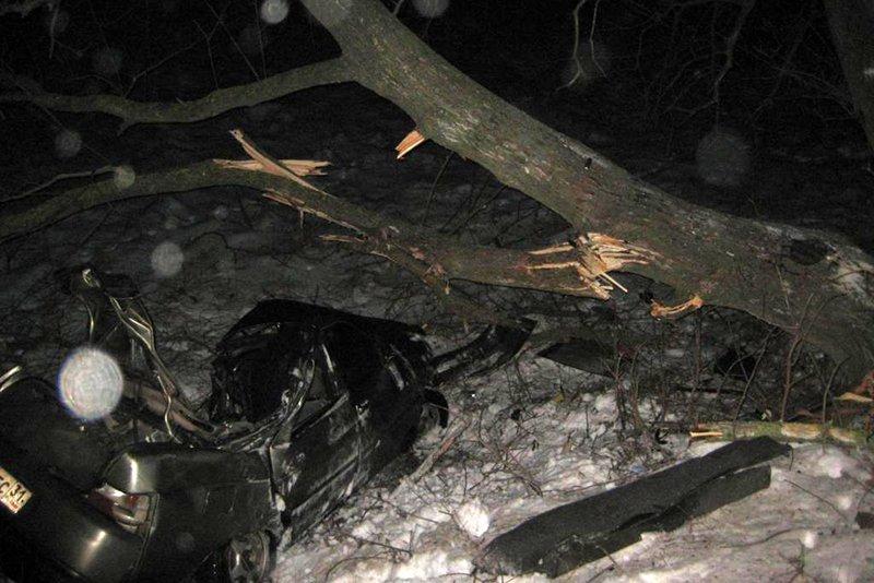 Под Белгородом разбился водитель ВАЗа, фото-1