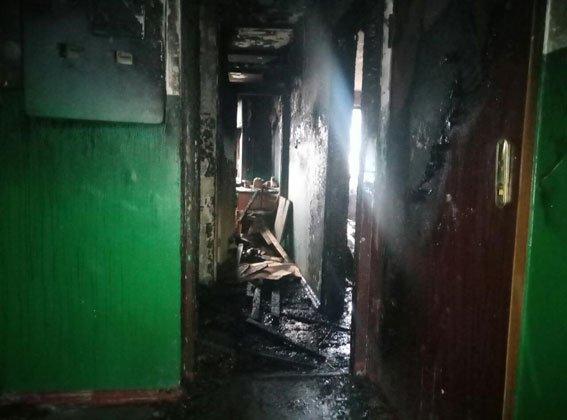 ВКременчуге пенсионерка устроила пожар иполезла впетлю