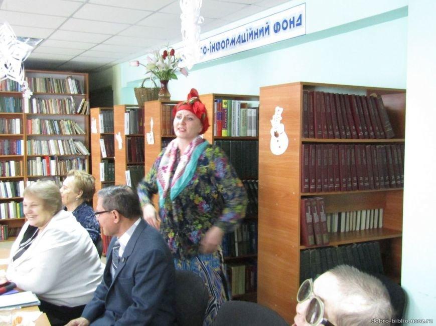 """В Добропольской Центральной библиотеке провели """"поэтический сочельник"""" (ФОТО), фото-2"""