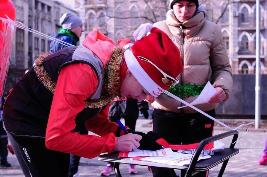 Сто одесских Дедов Морозов устроили «Забег Обещаний» (ФОТО), фото-13