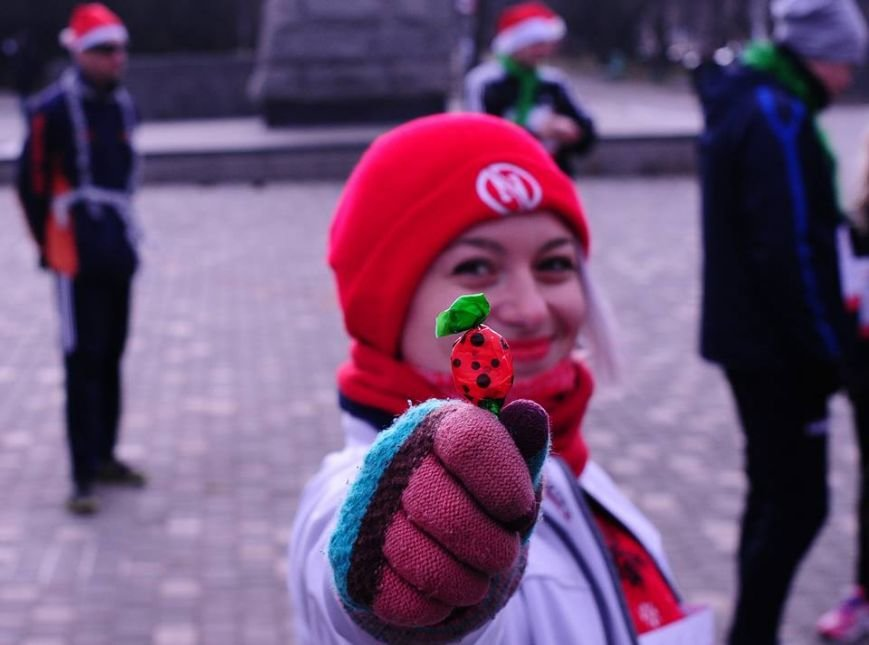 Сто одесских Дедов Морозов устроили «Забег Обещаний» (ФОТО), фото-5