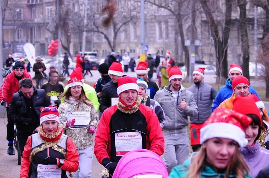 Сто одесских Дедов Морозов устроили «Забег Обещаний» (ФОТО), фото-2