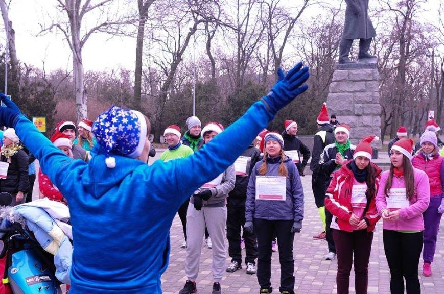 Сто одесских Дедов Морозов устроили «Забег Обещаний» (ФОТО), фото-3