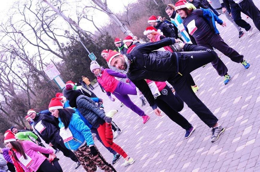 Сто одесских Дедов Морозов устроили «Забег Обещаний» (ФОТО), фото-9