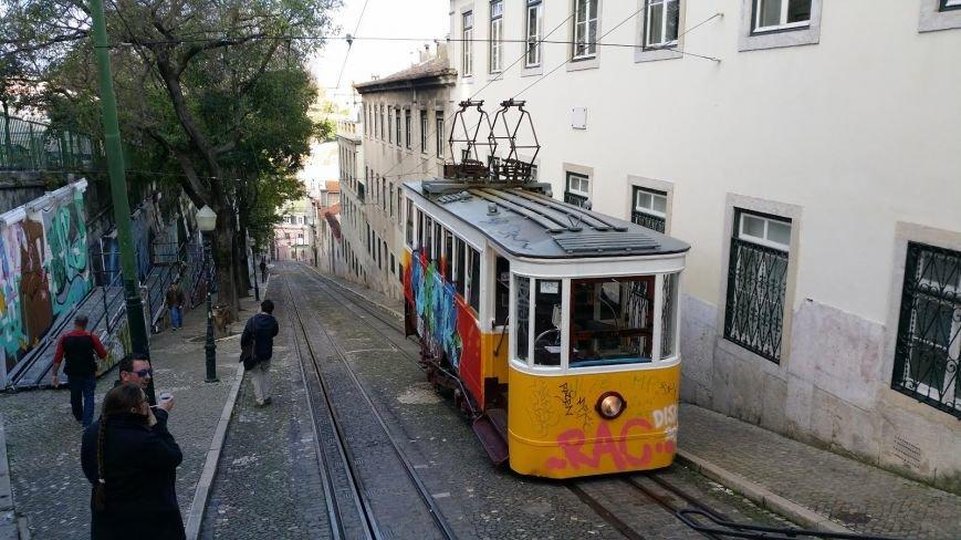 Лиссабон, трамвай