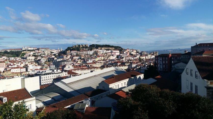 Лиссабон, панорама город