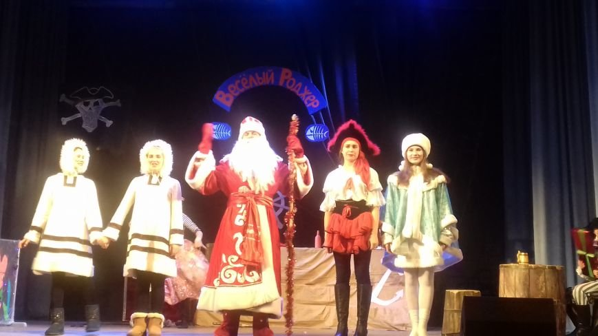 Пираты получили подарки от Деда Мороза и попали на новогодний утренник (видео), фото-2