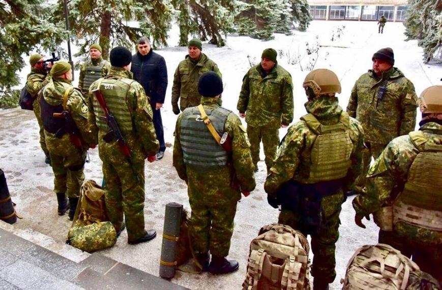 Восвобожденном Новолуганском начало работу отделение милиции