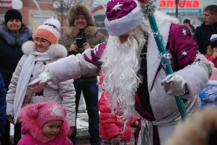 В Бердянске продолжались Новогодние мероприятия возле главной елки  города, фото-7