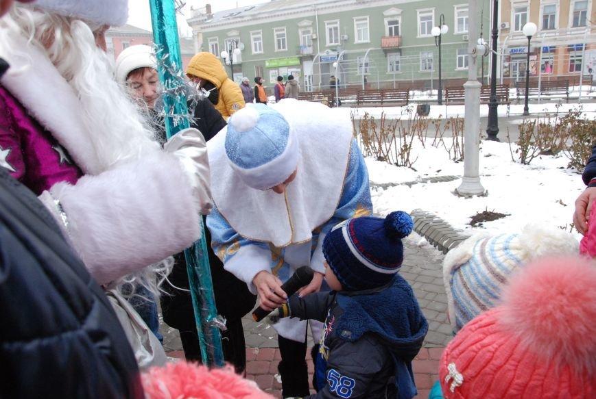 В Бердянске продолжались Новогодние мероприятия возле главной елки  города, фото-8