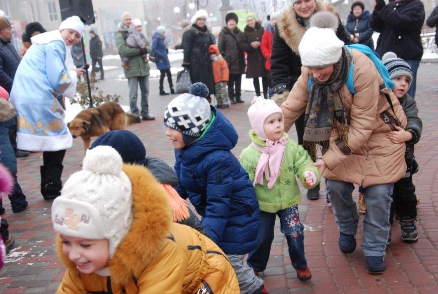 В Бердянске продолжались Новогодние мероприятия возле главной елки  города, фото-5