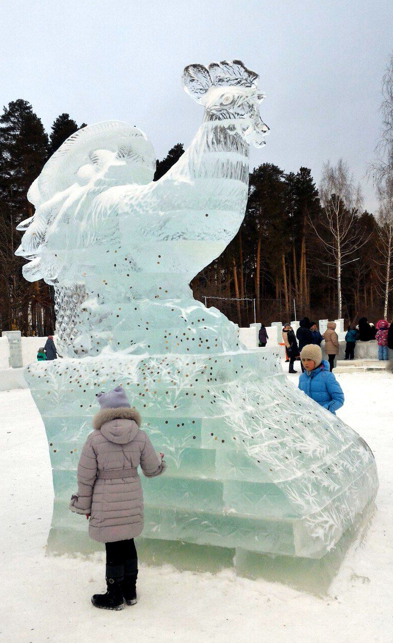 А вам понравились ледяные городки?, фото-10