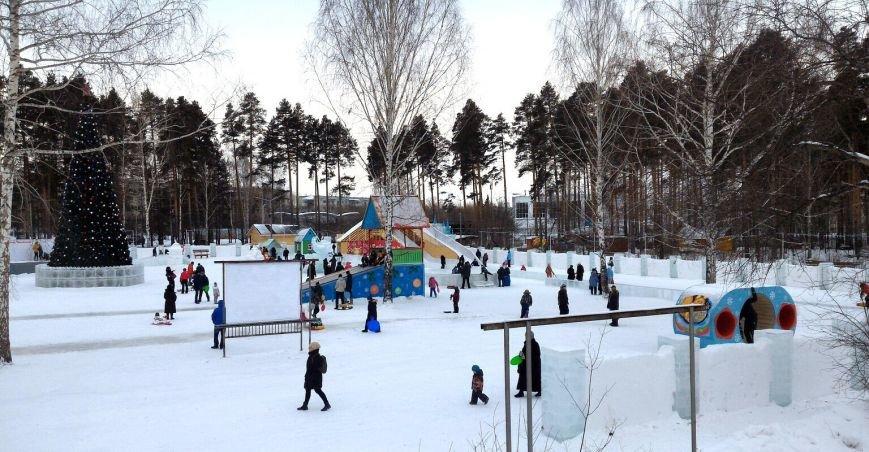 А вам понравились ледяные городки?, фото-4