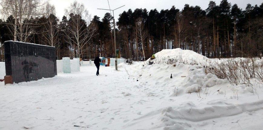А вам понравились ледяные городки?, фото-7