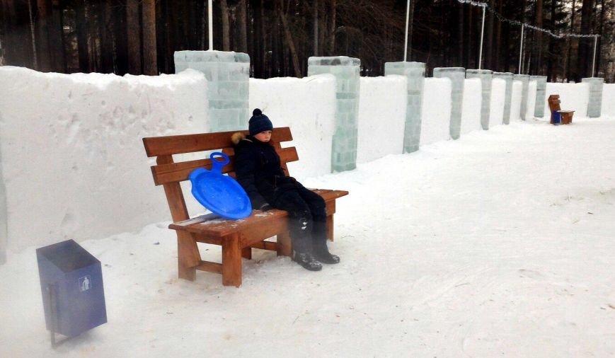 А вам понравились ледяные городки?, фото-3