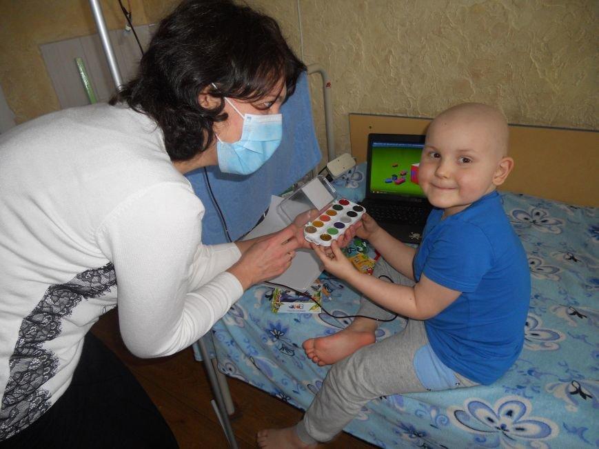 У Хмельницькому проводять конкурс малюнку серед онкохворих дітей (ФОТО), фото-1