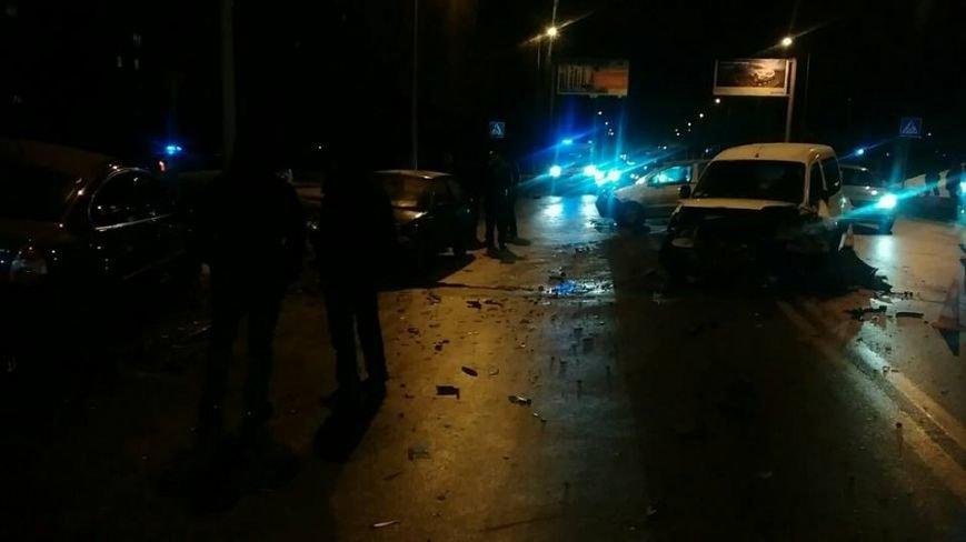 На Салтовке столкнулись четыре автомобиля: есть пострадавшие (ФОТО), фото-2