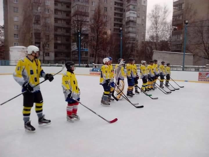 Сумские хоккеисты вышли на лед, фото-1