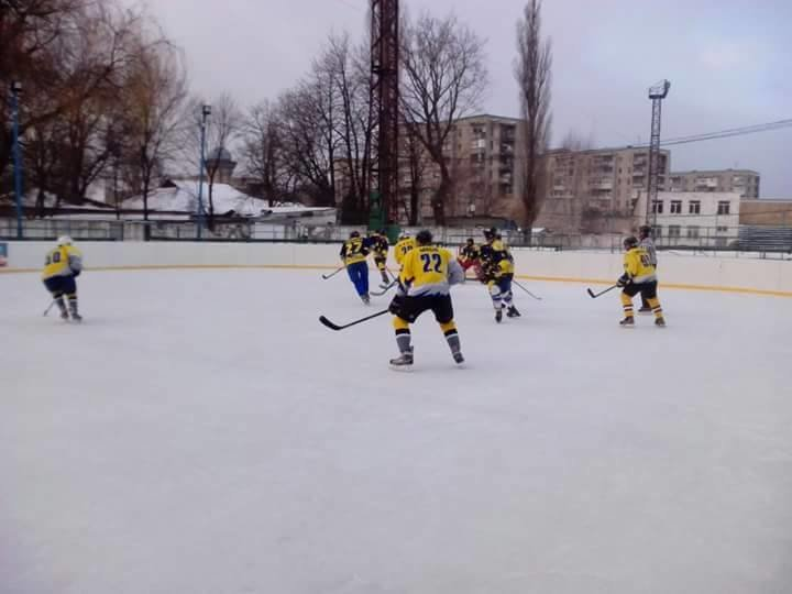 Сумские хоккеисты вышли на лед, фото-3