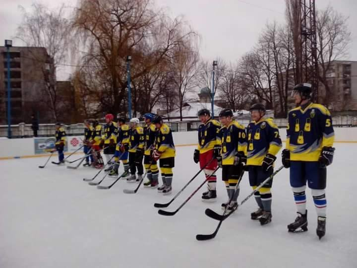 Сумские хоккеисты вышли на лед, фото-2