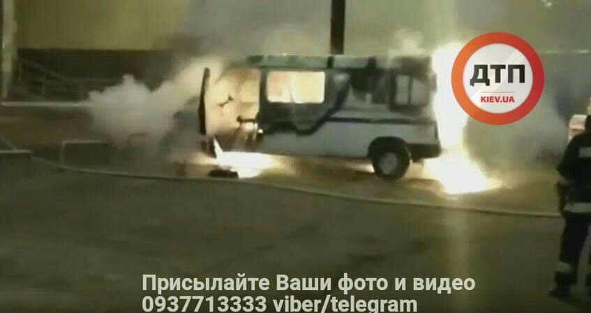 Возле киевского метро взорвалась машина с ГБО (ФОТО), фото-4