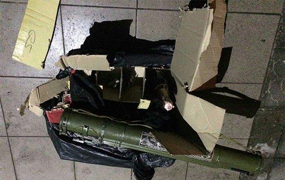 В Днепропетровской области гранатами и шампанским заминировали редакцию газеты (ФОТО), фото-1