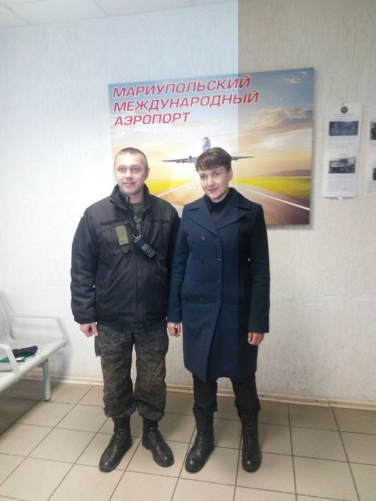 Савченко приехала на Донбасс, фото-3