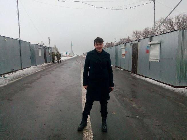 Савченко приехала на Донбасс, фото-2