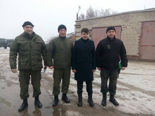 Савченко приехала на Донбасс, фото-1