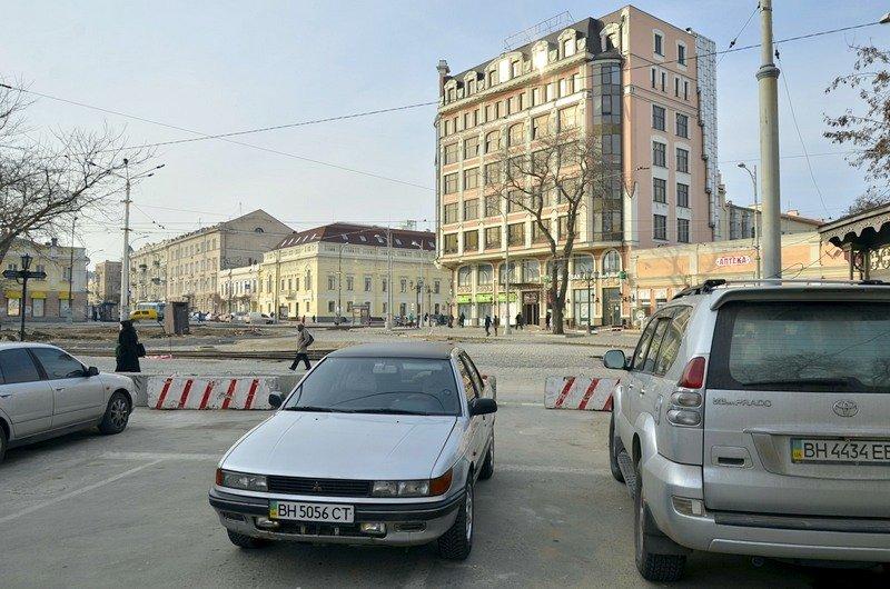 Тираспольская площадь осталась закрыта для одесситов и в 2017 году (ФОТО), фото-1