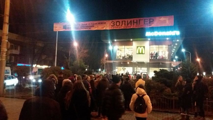 """В Запорожье с аншлагом открылся """"Макдональдс"""", - ФОТО, фото-5"""