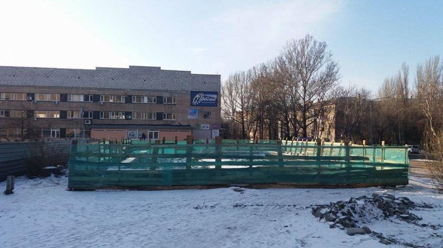 """Возле ДК """"Орбита"""" строят выставочный павильон, - ФОТО, фото-3"""