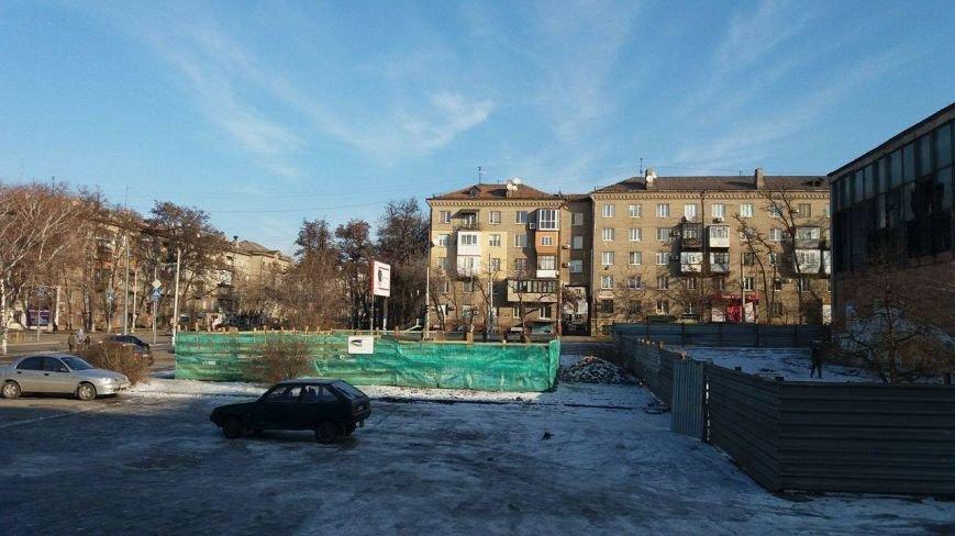 """Возле ДК """"Орбита"""" строят выставочный павильон, - ФОТО, фото-4"""