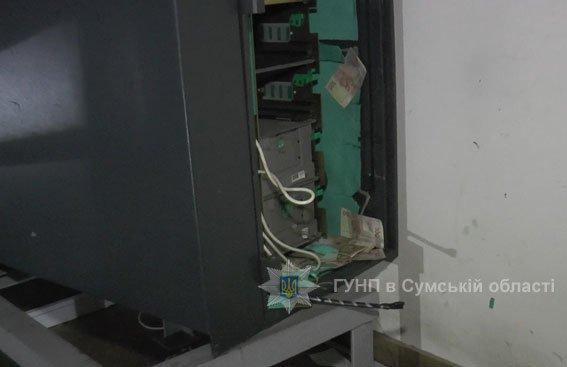 В Сумах на Харьковской подорвали банкомат (ФОТО), фото-1
