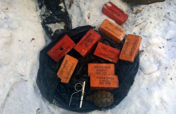 В прифронтовом Новолуганском обнаружили тайник с боеприпасами, фото-1