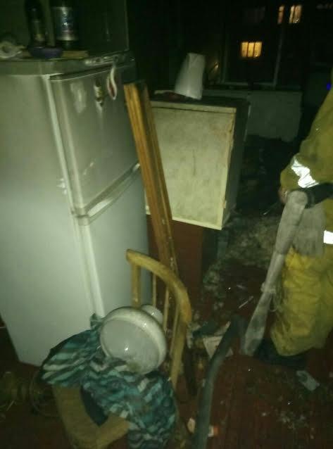 Житель Мелитополя едва не погиб в горящей квартире, - ФОТО, фото-4