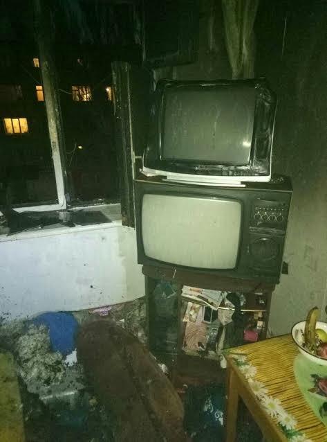 Житель Мелитополя едва не погиб в горящей квартире, - ФОТО, фото-1