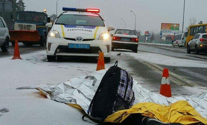 Одразу дві аварії: одна – у Погребах, друга – на Броварському проспекті (Фото), фото-1