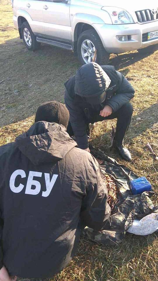 Под Одессой обнаружили тайник с боеприпасами, фото-3