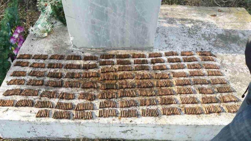 Под Одессой обнаружили тайник с боеприпасами, фото-1