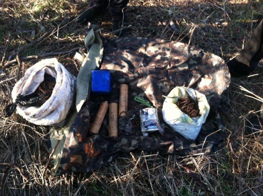 Под Одессой обнаружили тайник с боеприпасами, фото-2