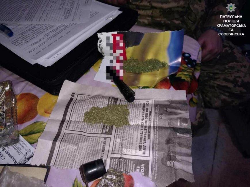 Краматорские патрульные приехали на семейную ссору, а обнаружили 3 кг каннабиса, фото-3