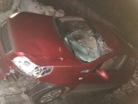 Два автомобиля сбили пешехода на трассе в Харьковской области (ФОТО), фото-1