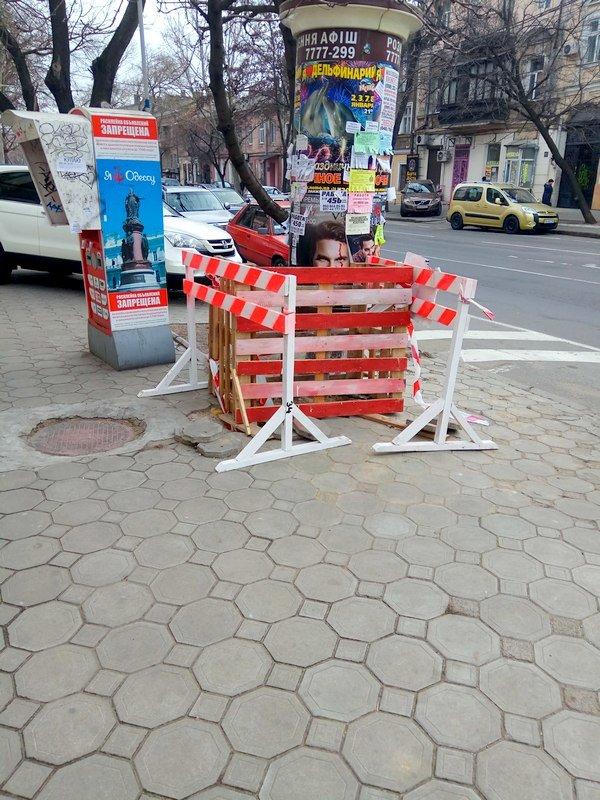 Коммунальщики нарыли ямы в центре Одессы: глядите в оба (ФОТО), фото-4