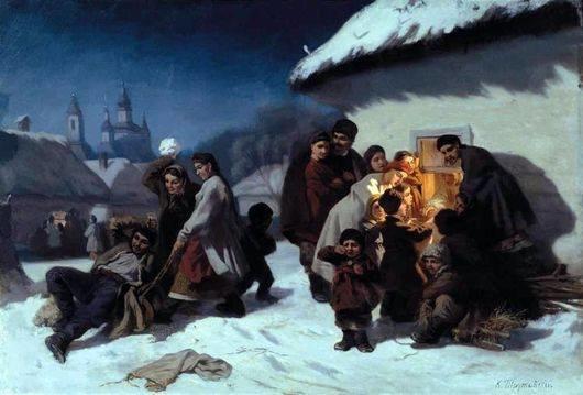 Трутовський Колядки в Україні 1864