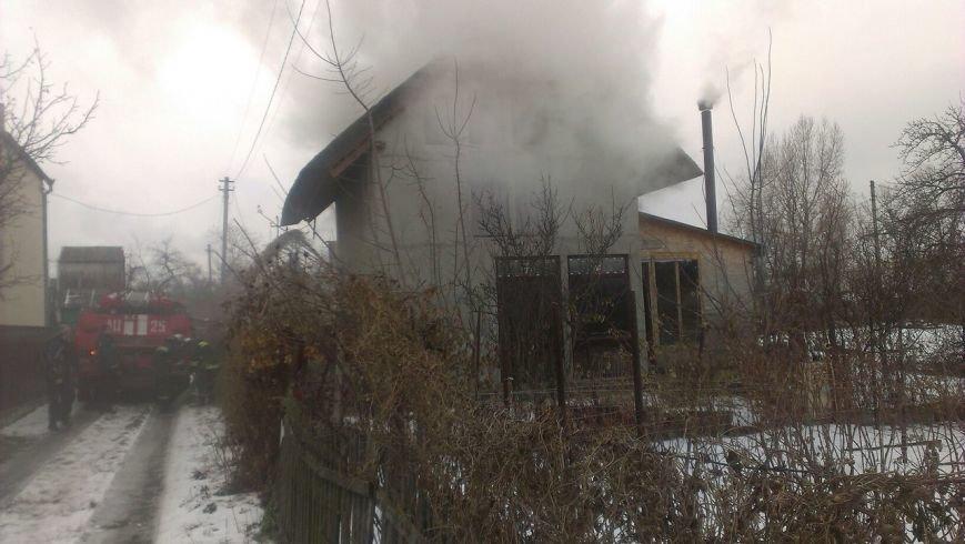 В Днепре горел частный двухэтажный дом (ФОТО), фото-1