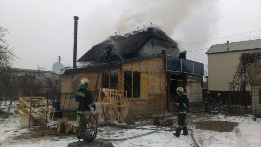 В Днепре горел частный двухэтажный дом (ФОТО), фото-4