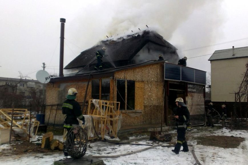 В Днепре горел частный двухэтажный дом (ФОТО), фото-2