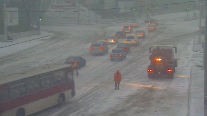 Одессу накрыло снегом (ВИДЕО), фото-1