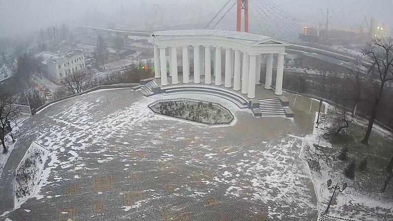 Одессу накрыло снегом (ВИДЕО), фото-4